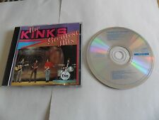 The Kinks - Greatest Hits (CD) SWEDEN Pressing