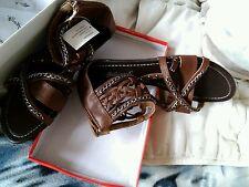 Belles sandales choco en 37. 👡 Esprit Rock