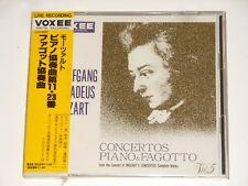 Yoshiyuki Hara - Piano - Sealed Japan CD - MOZART - Concertos Piano & Fagotto