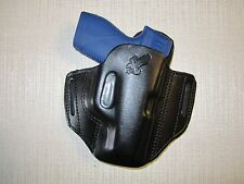 TAURUS PT 709 SLIM formed leather pancake owb leather belt slide holster