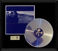 U2 Joshua Tree Gold Record Platinum Disc Lp Album Frame Rare!