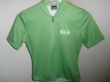 Womens Half Zip Louis Garneau Cycling Shirt Jersey Size P/S Petite Small Nice!