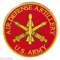 "ARMY AIR DEFENSE ARTILLERY  EMBROIDERED 4"" MILITARY BRANCH PATCH"