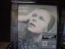 HONKY DORY by DAVID BOWIE RARE JAPAN REPLICA 2007 LP OBI CD SILVER STICKER ISSUE