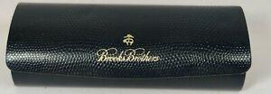 Brooks Brothers Glasses Case 🔥Royal Blue Outside / Black Inside Gatto🔥