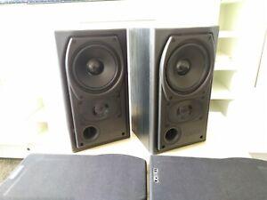 Mission 731i Black Ash 2-way bookshelf stereo speakers