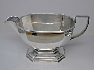 Art Deco Silver Plated Sauce Boat by Francis Howard FH&S
