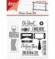 Stanz-schablone cutting die Stempel Stamp Foto Kamera Handy Selfie Joy 6004/0029