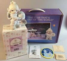 """Precious Moments """"The Club That's Out of the World"""" #C0012 w/Patch & Boxes ~T182"""