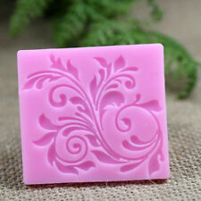 1pcs Fondant Silicone Lace Cake Candy Decorating SugarCraft Flower Mold Mould p7