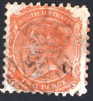 AUSTRALIE DU SUD- N°:26   - USED - YEAR 1868