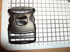 1-Plastic Side Release Buckles For Webbing 50 mm Bags Straps Clips - Open / Lock