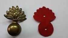 Fregio in ottone bandoliera/giberna carabinieri con panno