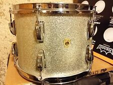 VINTAGE LUDWIG 1968 SUPER CLASSIC 13 TOM SILVER SPARKLE KEYSTONE 1 OWNER VGC 60s