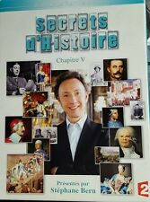 Coffret série documentaire SECRETS D'HISTOIRE - Chapitre 5 - V - Stéphane Bern