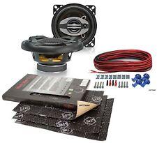 Upgrade Lautsprecher 100mm Koax für Saab 900 79-94 Front+StP Dämmung