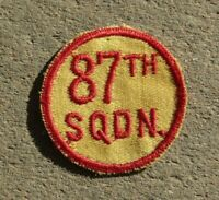 WW2 USAAF US Army Air Force 87th Training Squadron Class Patch