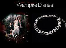The Vampire Diaries: Caroline Forbes Silver Plated Crystal Diamond Bracelet