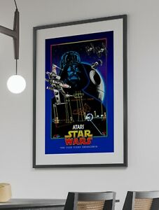 Star Wars Atari Arcade Retro Video Game Poster 24 x 36 inches