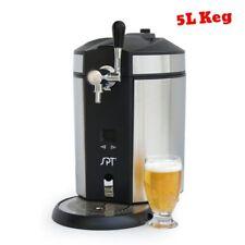 Mini Kegerator Kit Beer Dispenser Faucet Drip Tray Table Top Keg Drink Chiller