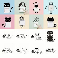Removable Art Vinyl Quote DIY Cat Dog Wall Sticker Decal Mural Home Room Switch