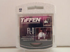 Tiffen 49mm FL-D Fluorescent Filter NEW SEALED IN BOX FREE SHIP