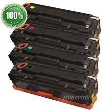 4 Toner Cartridge CF210A 131A Black Color For Laserjet Pro 200 M276nw M251nw
