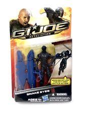 2012 GI Joe Snake Eyes ~ Retaliation Movie Hasbro Ninja Zip Line Action FIgure
