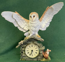 Country Artists - Barn Owl On A Clock