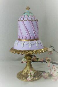 Künstliche Torte Patisserie Macaron Etagere December Diamonds 34cm, 1kg NEU