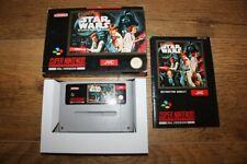 Jeu Super Star Wars pour console Super Nintendo SNES en boite complet