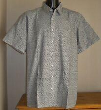 Camicie casual e maglie da uomo in cotone bianco con colletto regolare