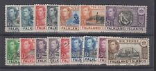 FALKLAND ISLANDS 84-96 KGVI complete used 1938-46