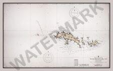 South Orkney Island Carte énorme art print poster LLF0848