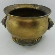 Very Large Antique Burmese Brass Bowl, 19th C.