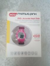 MIO Motiva Petite Heart Rate Pink/Black Strap Watch Monitor Calorie Management
