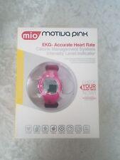 Mio Motivation Petite Herzfrequenz pink/schwarz Strap Uhr Monitor Kalorien Management