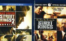 Street Kings & Street Kings 2 [New Blu-ray] 2 Pack, Ac-3/Dolby Digital, Dolby,