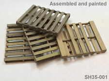 Shadow Hobby 1/35 Scale U.S. Standard Pallets,  Laser Cut (set of 4) SH35-001