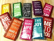30 Punch Studio Sparkle Gift Tags Assorted Birthday Etc