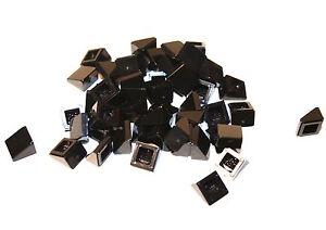 50x LEGO®  Schrägstein Dachstein 30° 1x1x2/3 54200 NEU Schwarz