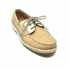 Men's Sperry Top-Sider Billfish Boat Shoes Size 9.5 Brown Leather Casual E3