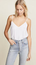 New Equipment 100% Silk Solid Color Camisole Tank Topsleeveless Lady's Vest