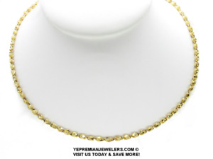 """14K GOLD MARQUIS NECKLACE * NEW WITH TAGS * 19"""" LONG * BEST OFFER TODAY!"""
