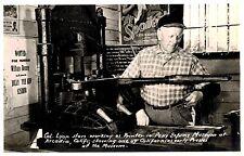 RPPC,Arcadia,CA.Pony Express Museum,Printing Press,San Gabriel Valley,c.1945-50s