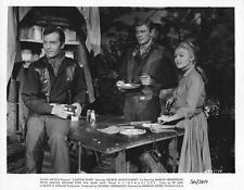 "Peter Graves, George Montgomery  ""Canyon River"" vintage movie still"