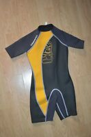 COMBINAISON SHORTY TRIBORD 10 ANS 134 A 145 CM WETSUIT SURF BODYBOARD WAKEBOARD