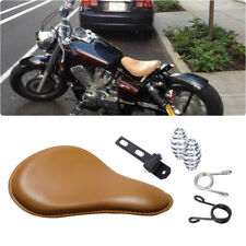 Motorcycle Soft Driver Seats Spring Solo For Honda Shadow Aero 750 1100 Bobber