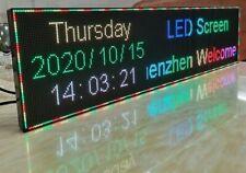 Led Sign Billboard Word Display Digital Signage Indicator Rolling 6416 Cm