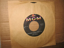 """MARK DINNING 7"""" 45 RPM SUDDENLY THERE'S ONLY YOU B/W TOP FORTY NEWS & SPORTS"""